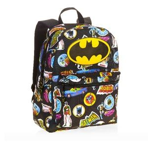 Batman Backpack Marvel Comics All Over Graphics